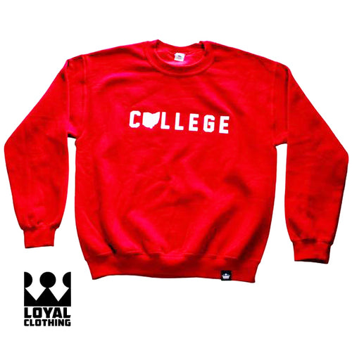 College OHIO Crewneck