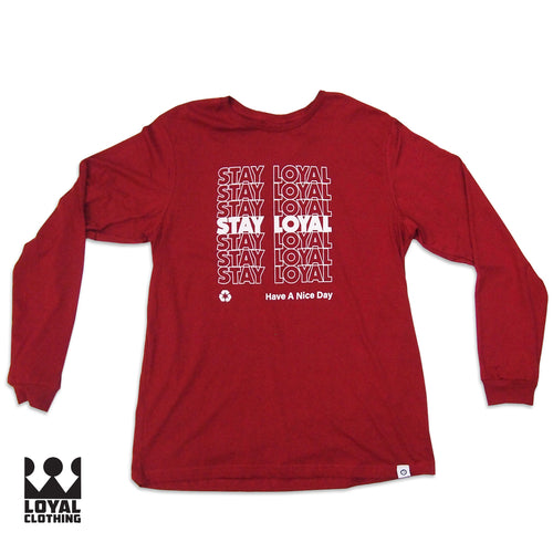 Loyal Thank you Long sleeve shirt