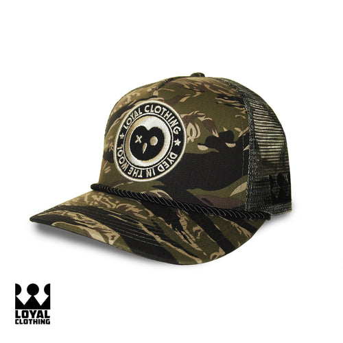 Loyal Trucker hat - Tiger Jungle Camo