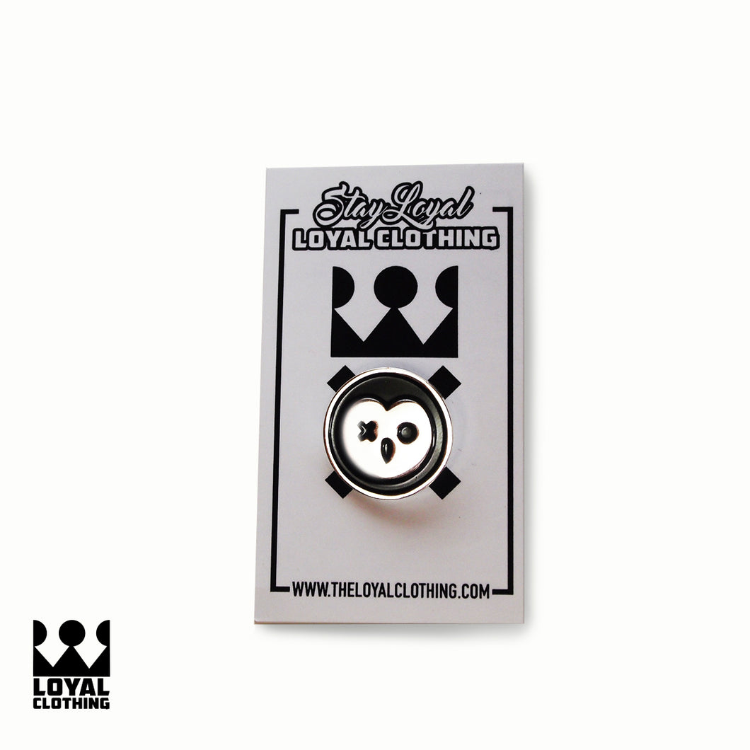 Loyal Pins - owl logo