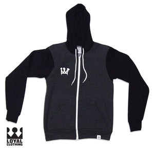 Loyal Graffiti Zip Up Hoodie