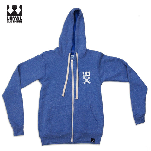 Loyal X logo Zip Up Hoodie