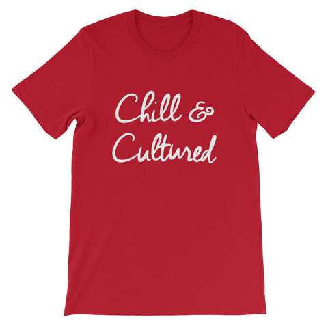 Chill & Cultured Tee - Red