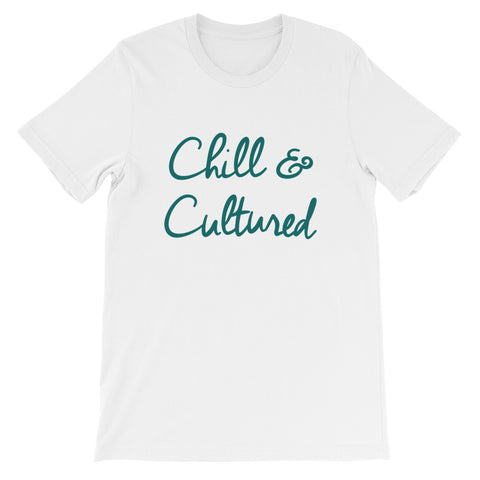 Chill & Cultured Tee - White