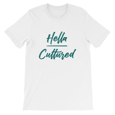 Hella Cultured Tee - White