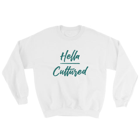 Hella Cultured Sweatshirt - White