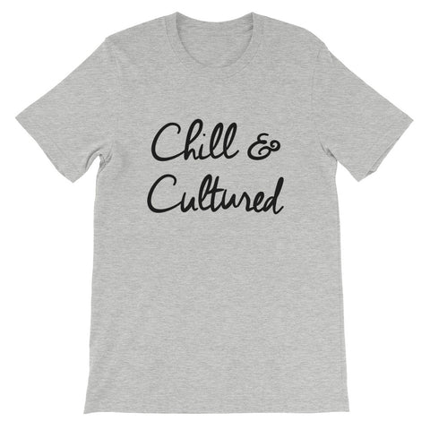 Chill & Cultured Tee - Athletic Heather