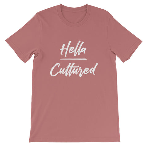 Hella Cultured Tee - Mauve
