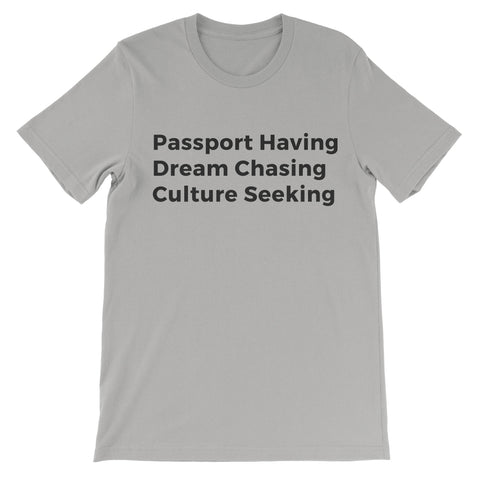 Passport Tee - Athletic Heather