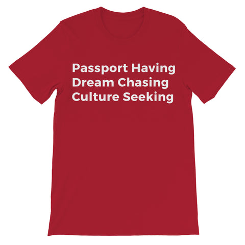 Passport Tee - Red