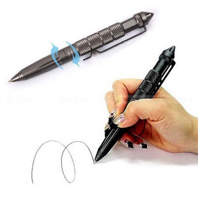 EDC Aluminum Tactical Pens Glass Breaker EDC Self Defense Tactical Survival Pen Multi-function Camping Tool for Writing