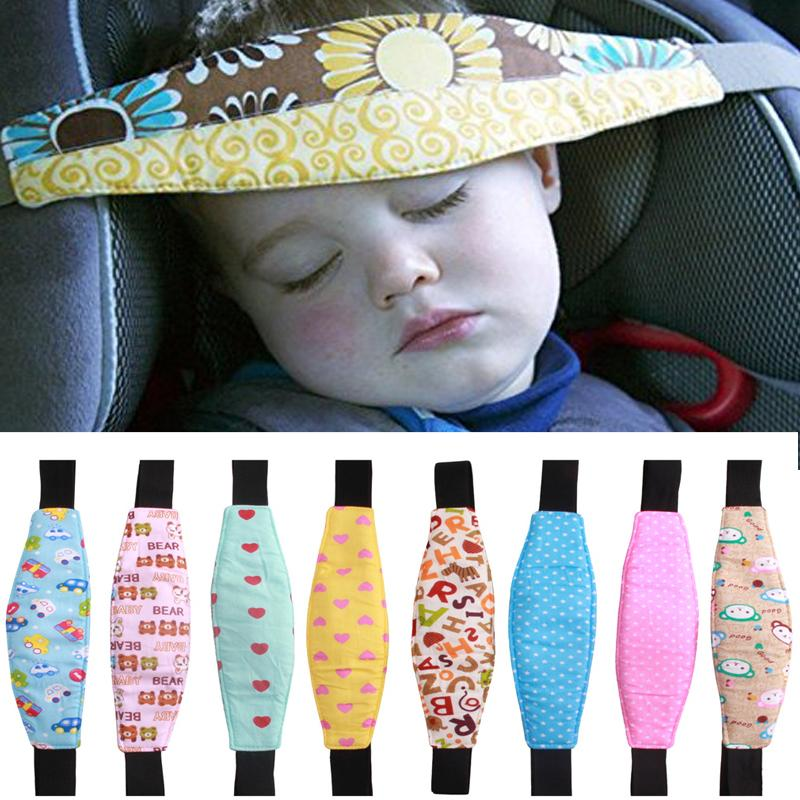 Car Safety Infants Baby Head Support Belt