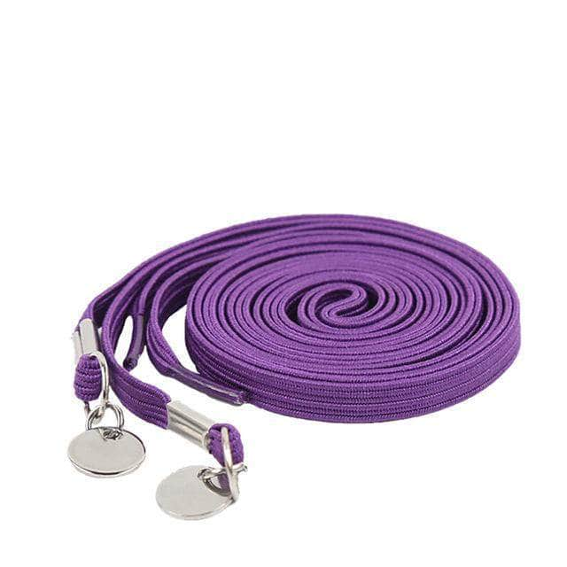 e84a5261f7af One Handed No Tie Shoelaces For Kids And Adults - 1 Pair - Super Smart  Products. Hover to zoom