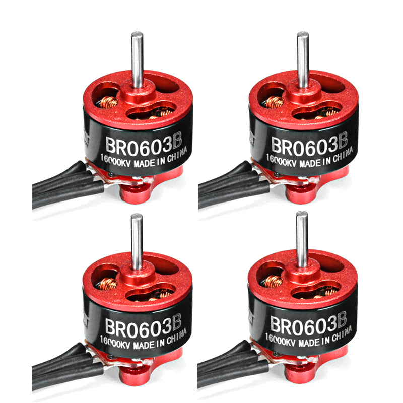 4X Racerstar Racing Edition 0603 BR0603B 16000KV 1-2S Brushless Motor For RC Drone FPV Racing Frame