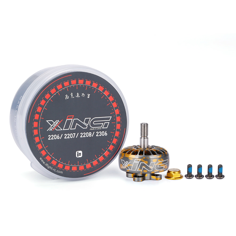 iFlight XING Camo Orange X2306 2306 1700KV 2450KV 2750KV Brushless Motor 2-4S For RC Drone FPV Racing Multi Rotor