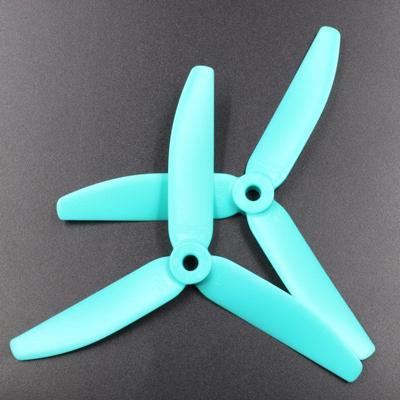 GEPRC 5040 V2 5 Inch 3 Blade Propeller Triblade Props Colver Prop Blue Yellow Pink For FPV Racer