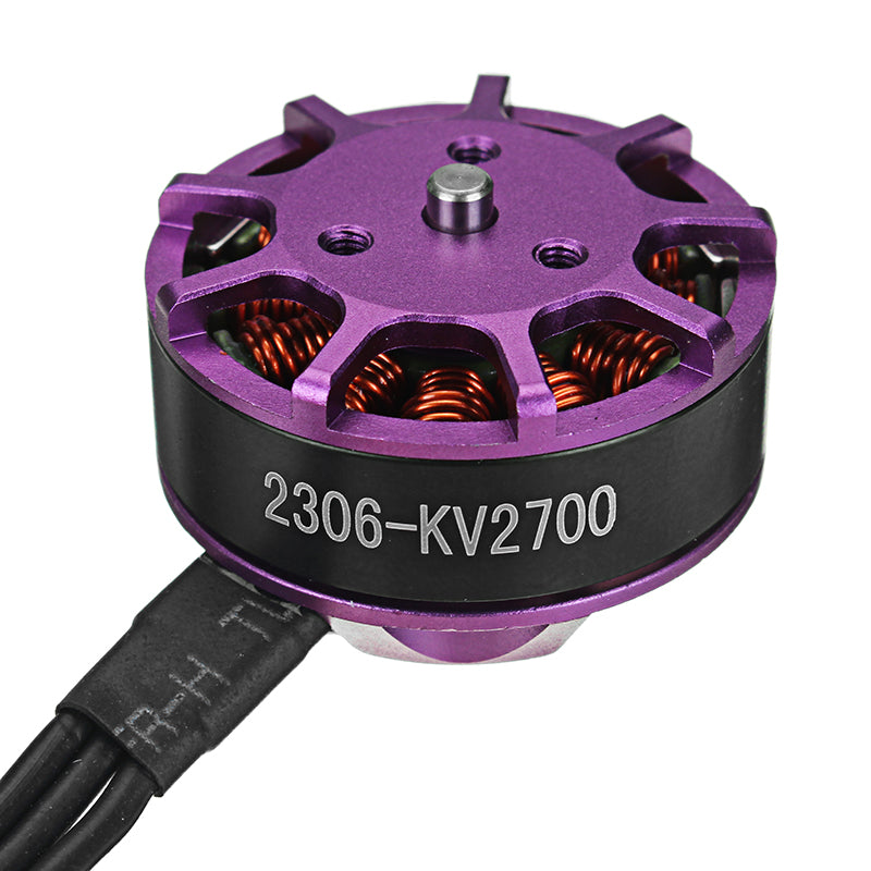 Happymodel SE2306 2306 2700KV 3-4S Brushless Motor with Quick Installation Mount Holder for RC Drone