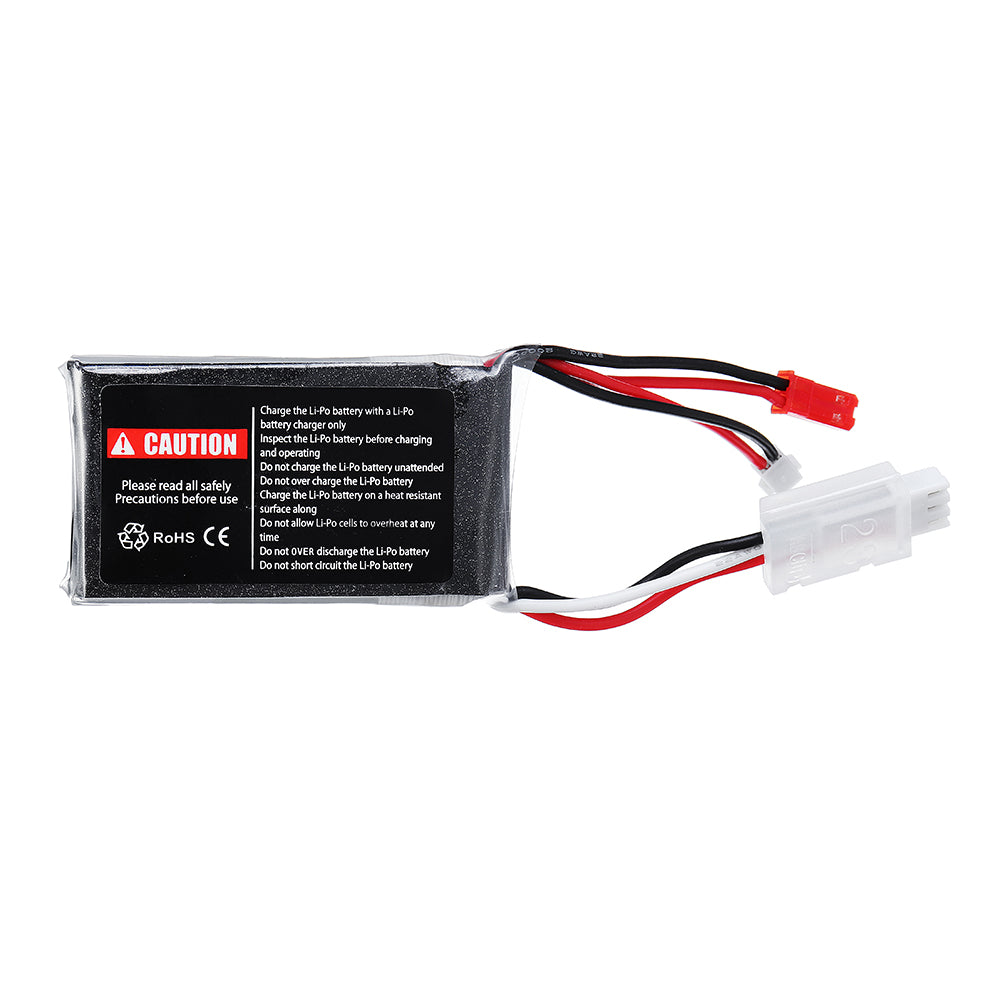 URUAV 7.4V 550mAh 70C 2S Lipo Battery JST Plug for Eachine Aurora 90 100
