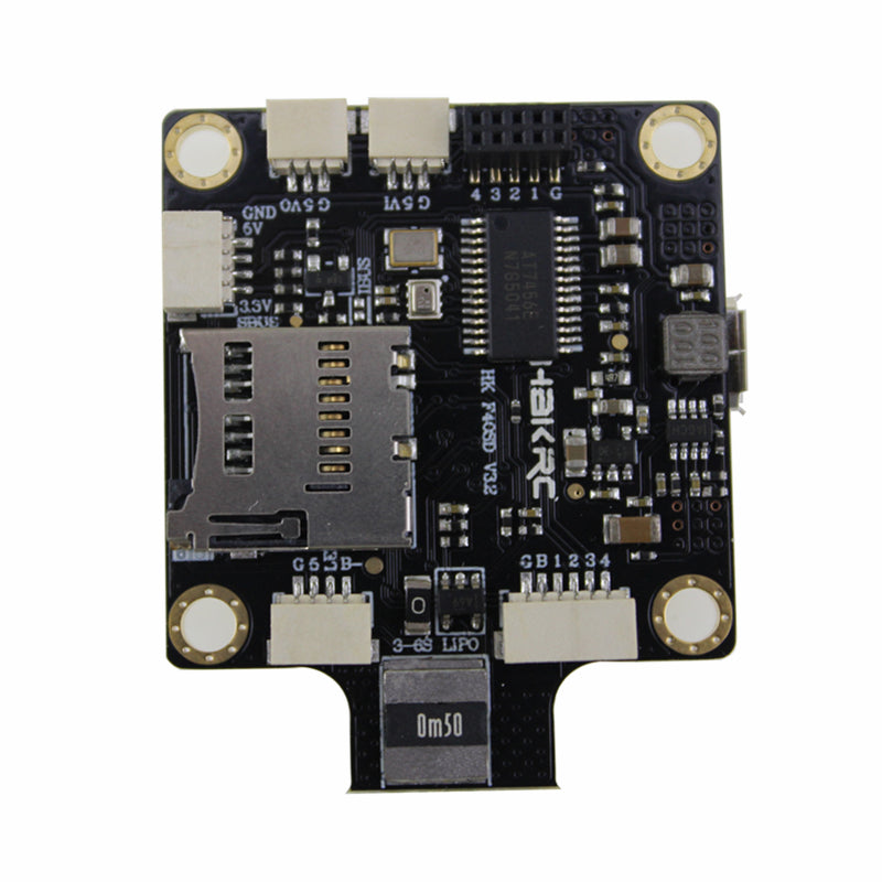 HAKRC BF3.2 Omnibus F4 FC 2-4S Integrated Betaflight OSD PDB Current Meter for RC Drone