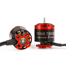iFlight Brushless Motor for RC Drone FPV Racing Multi Rotor Tachyon T1108 7500KV 2-3S Micro