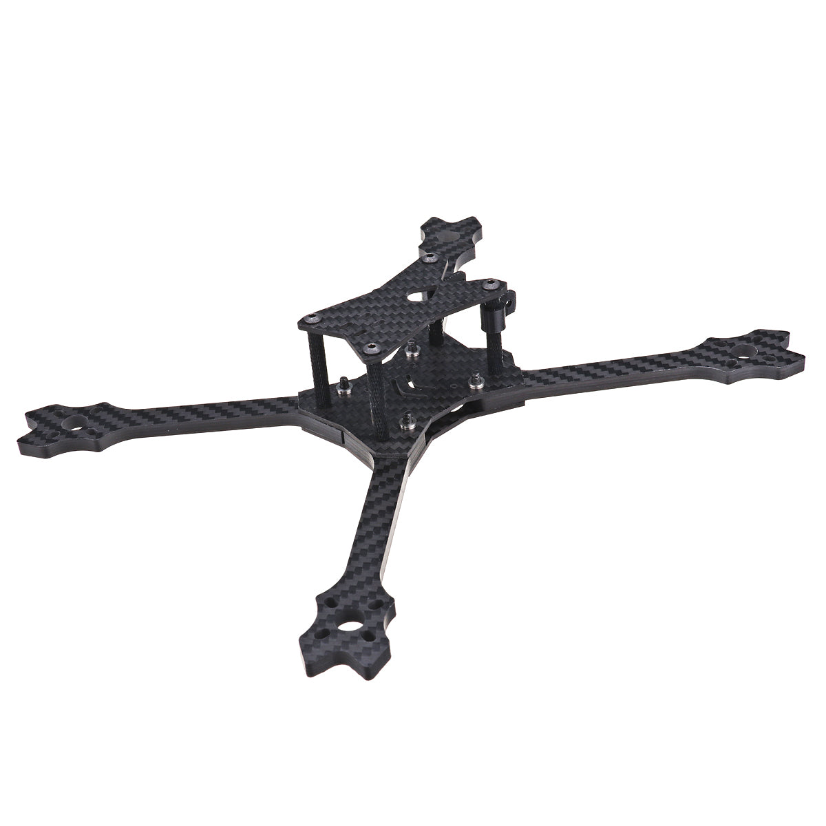 FPV Racing Frame Kit 5mm Arm Plate for RC Drone URUAV UF5 5 Inch 220mm Carbon Fiber