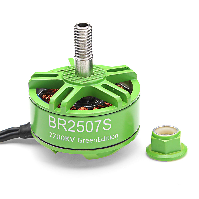 Racerstar 2507 BR2507S Green Edition 1800KV 2400KV 2700KV Brushless Motor For RC Drone Frame