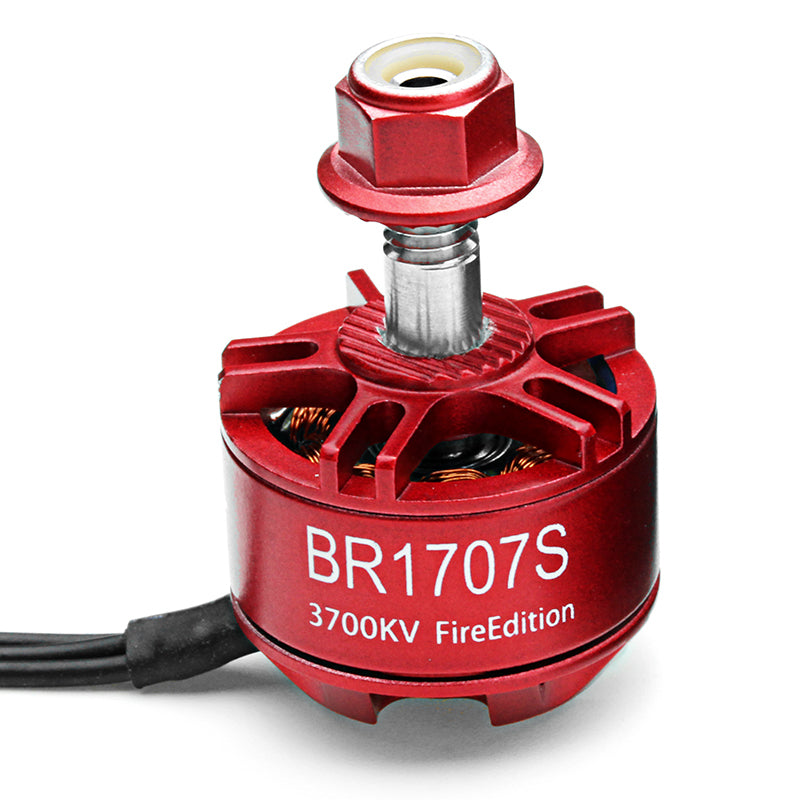 4X Racerstar 1707 BR1707S Fire Edition 3700KV 2-3S Brushless Motor For RC Drone FPV Racing Frame
