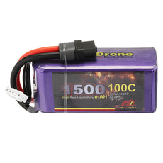 MY Red Beret 14.8V 1500mAh 100C 4S Lipo Battery XT60 Plug for Eachine Wizard X220S FPV Racer RC Drone
