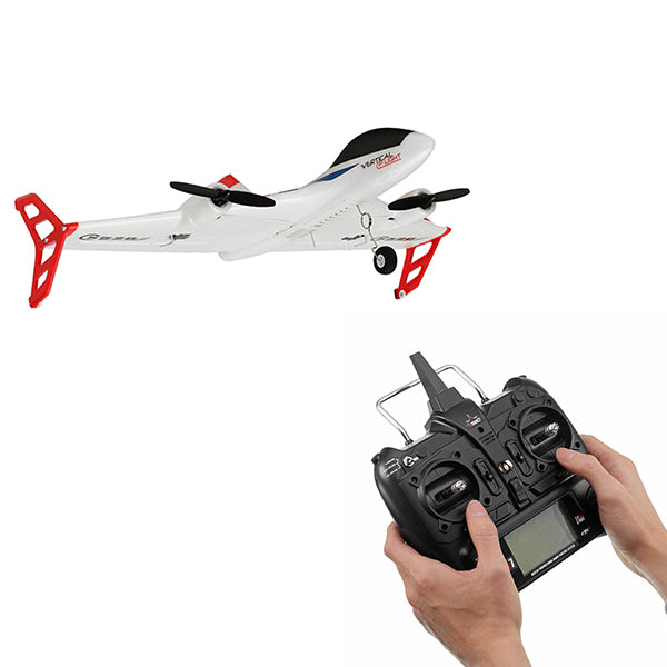 XK X520 2.4G 6CH 5G WIFI FPV VTOL Vertical Takeoff And Landing 3D EPP RC Airplane RTF