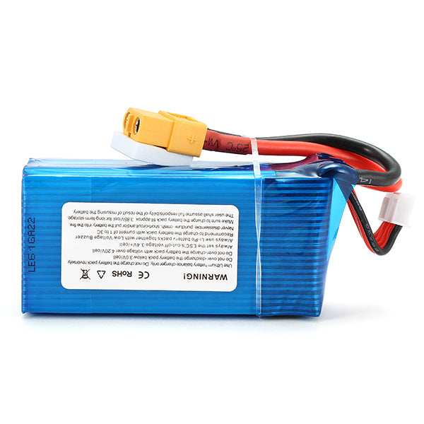 Giant Power Dinogy 1300mAh 14.8V 4S 65C LiPo Battery For RC Models