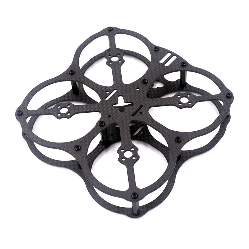 X2UFO 78mm Full Encircling 3K Carbon Fiber FPV Racing Frame Kit for RC Drone Multirotor