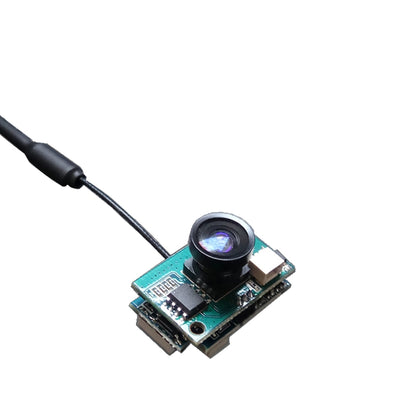 Mini FPV Camera With VTX For RC Drone 1200TVL 120 Degree 5.8G 25mW/200mW Switchable AIO