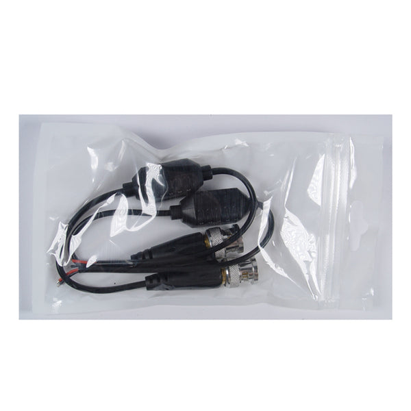 2Pcs 101FS Waterproof Passive Twisted Pair Video Transmitter Ultra-small Support HD-CVI/AHD/TVI