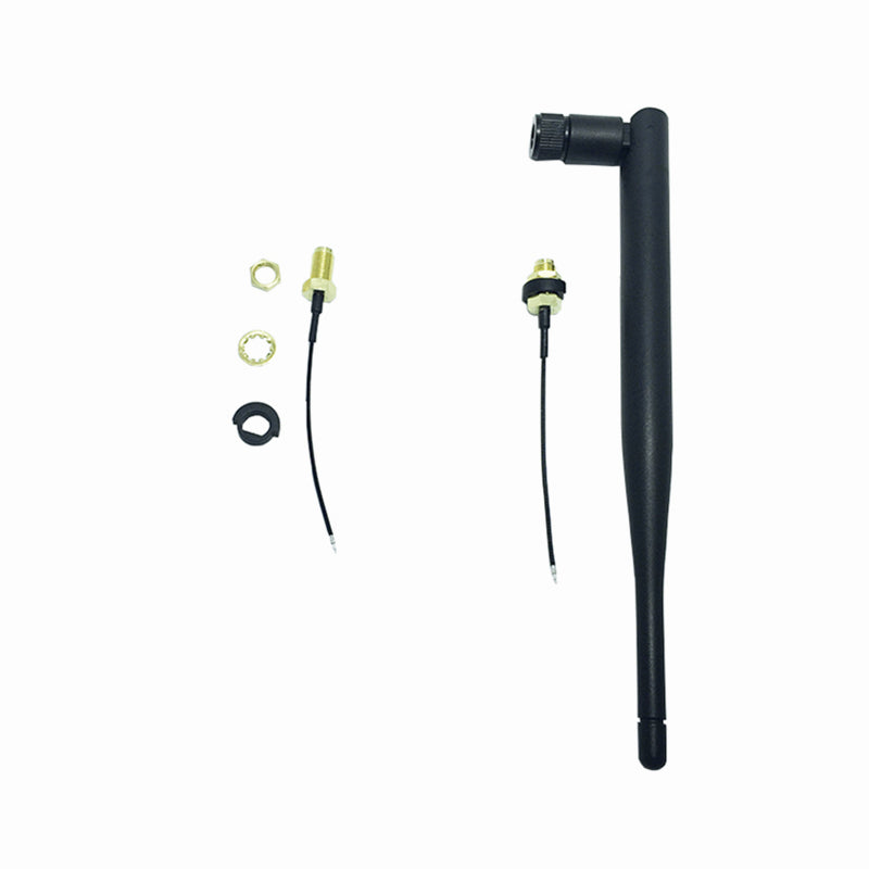 RF Connector 70 RP-SMA + 5dBi Antenna + Adapter For Frsky X9D PLUS Transmitter