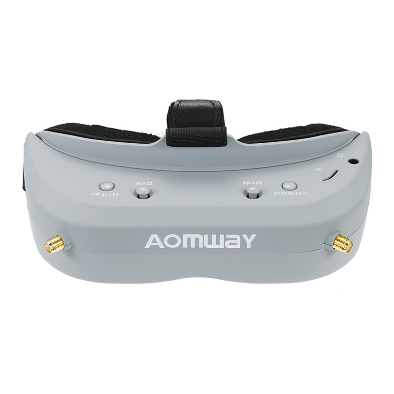 Aomway Commander Goggles V1 FPV 2D 3D 40CH 5.8G Support HD Port DVR Headtracker For RC Drone