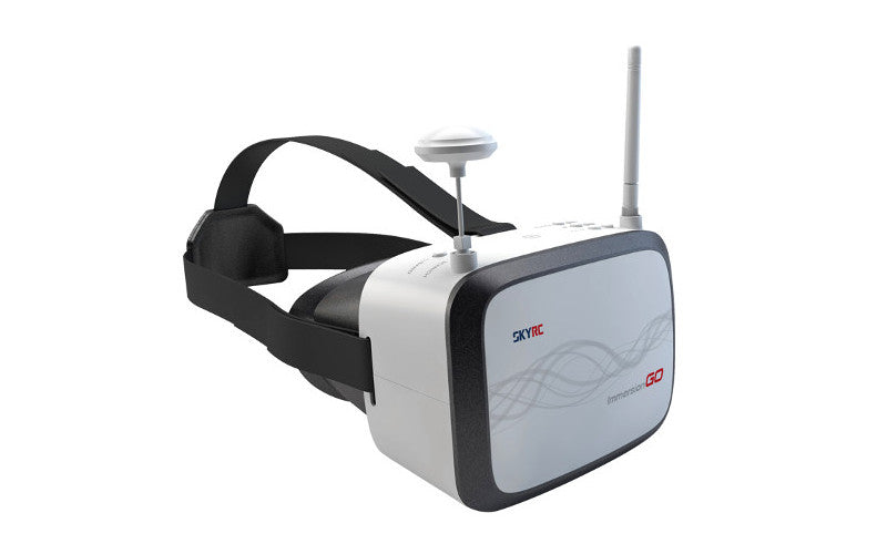 FPV Goggle SKYRC 5.8G 40CH 7 Inch HD 65 Degree Panoramic View 4:3/16:9 PAL/NTSC for RC Drone