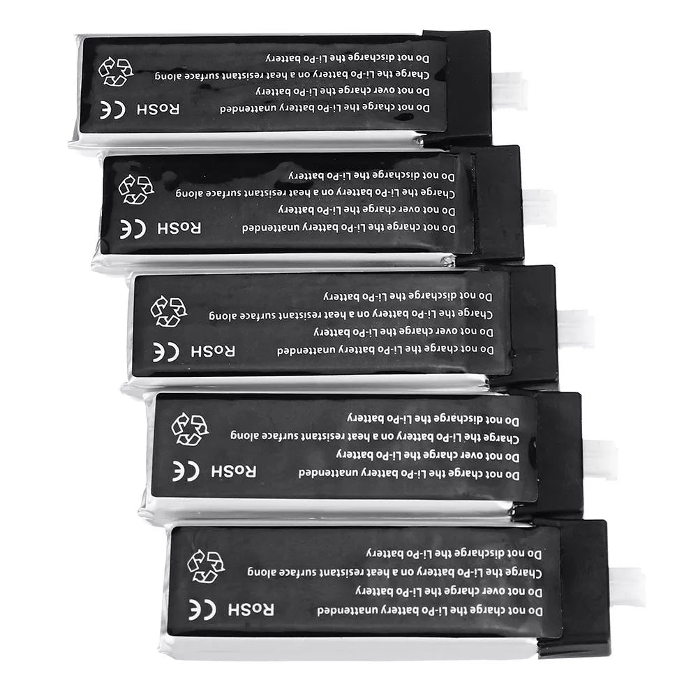 10Pcs URUAV 3.8V 550Mah 50/100C 1S HV 4.35V Lipo Battery PH2.0 Plug for Emax Tinyhawk Kingkong/LDARC TINY