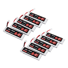 10Pcs URUAV 3.8V 450mAh 50/100C 1S HV 4.35V Lipo Battery PH2.0 for Emax Tinyhawk Happymodel Snapper7