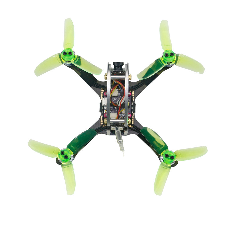 KINGKONG/LDARC FLY EGG V2 130 130mm RC FPV Racing Drone w/ F3 12A 4in1 Blheli_S 16CH 800TVL PNP BNF