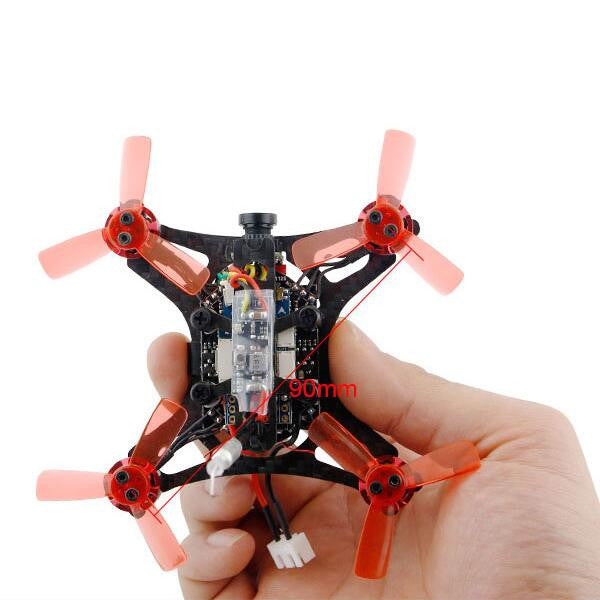 Kingkong / LDARC 90GT 90mm Brushless Mini RC FPV Racing Drone with Micro F3 Flight Controll 16CH 800TVL VTX