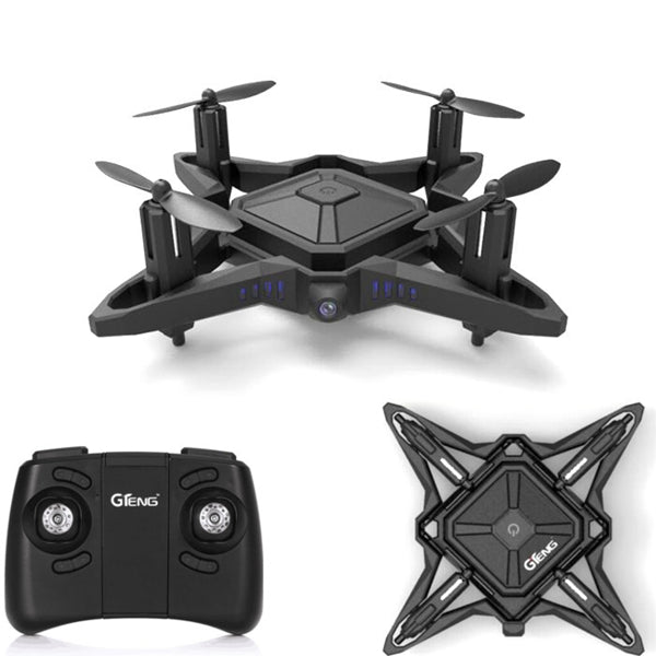 GTENG T911W WIFI FPV With 0.3MP HD Camera High Hold Mode Foldable Arm RC Drone Quadcopter RTF