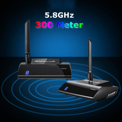 5.8GHz 300M 1080P Wireless AV Sender Video Transmitter TV Receiver Audio - Drone 4 Racing Drone 4 Racing Drone For Racing