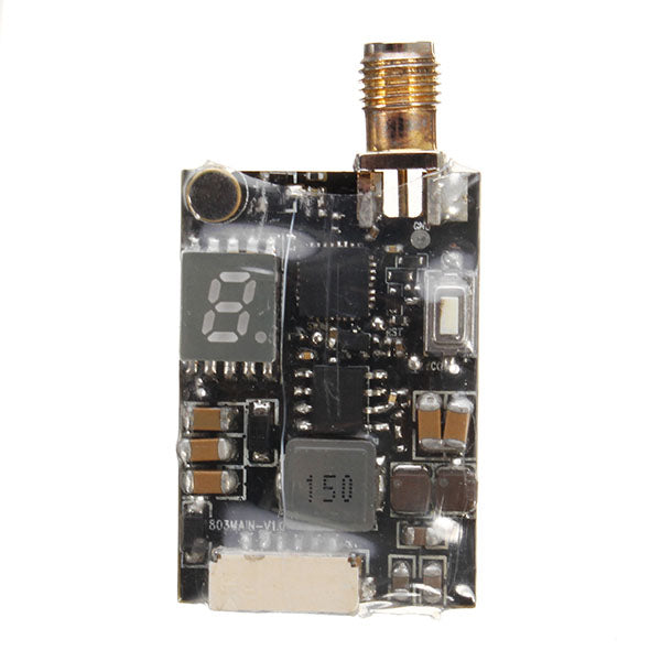 Eachine TX5258 5.8G 72CH 25/200/500/800mW Switchable FPV Transmitter Support OSD Configuring
