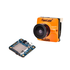RunCam Robin + Mini DVR Remote Control 700TVL 1.8/2.1mm FOV 160/145 Degree 4:3 NTSC & PAL Switchable CMOS FPV Camera