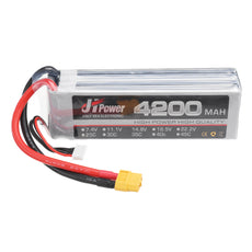 JH Lipo 14.8v 4200mAh 4S 35C Battery XT60 Plug for 1/10 Rc Car Model Parts