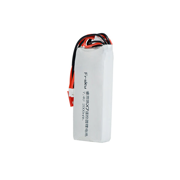 7.4V 2S 2000mAh 8C Lipo Battery Compatible for Frsky ACCST Taranis Q X7 Transmitter