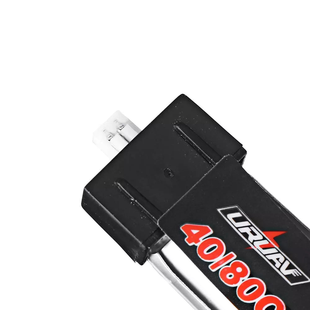 10Pcs URUAV 3.8V 250mAh 40C/80C 1S Lipo Battery PH1.25 Plug for RC Drone