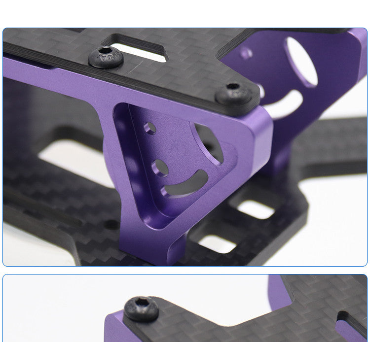 Realacc DC220 220mm Frame Kit for RC Multirotor FPV Racing Drone 4mm Arm thickness Carbon Fiber
