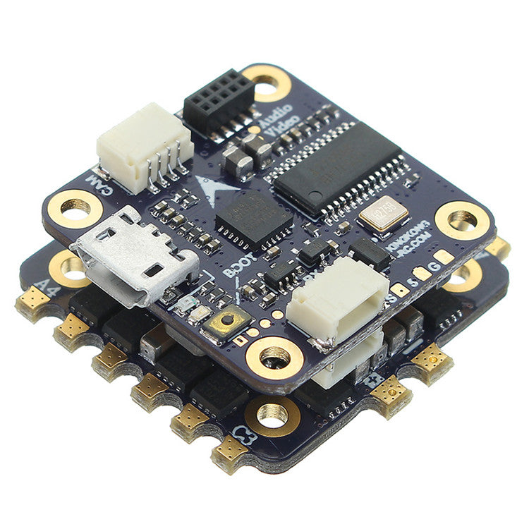 F4 Flight Controller LDARC/Kingkong 20x20mm KK20 Flytower 20A BL_S ESC & Omnibus w/ OSD for 200GT Racing Drone