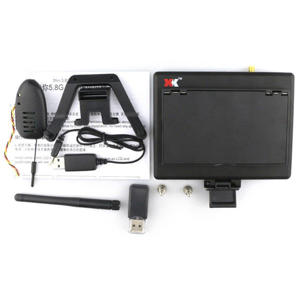 hd fpv drone monitor 5.8G 4.3 Inch 720P RC drone racing Parts